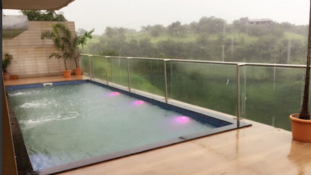 Air Villas at Igatpuri with private swimming pool