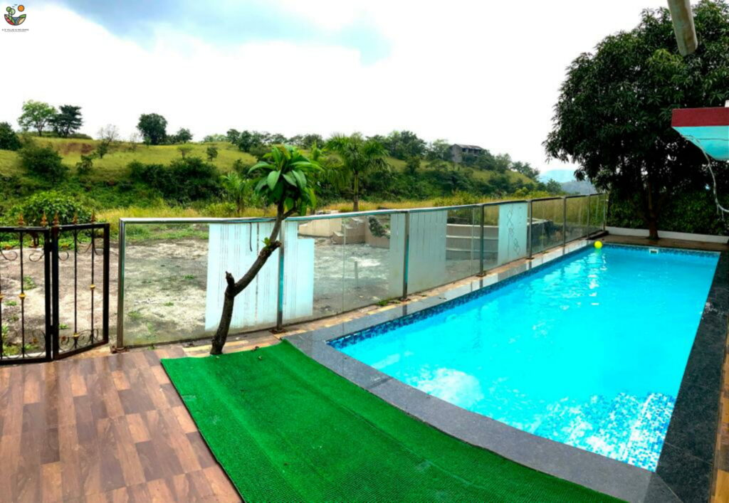 2BHK villas in Igatpuri with Private swimming pool